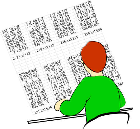 Accountant Stock Vector - 6608087