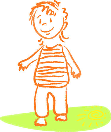 first steps: First steps Illustration