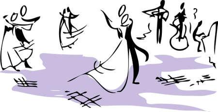 Ballroom Illustration