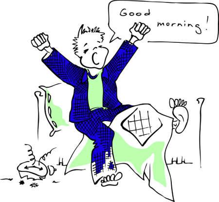 Good morning! Stock Vector - 8583196