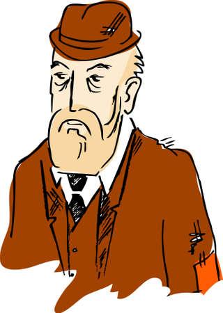 dignity: Old man. Dignity