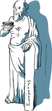 Sokrates Illustration