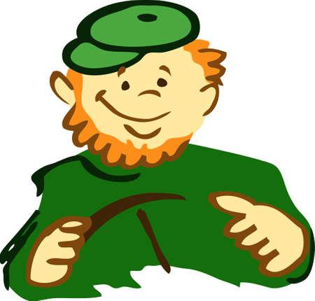 Irish driver Stock Vector - 8874285