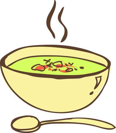 soup spoon: Soup