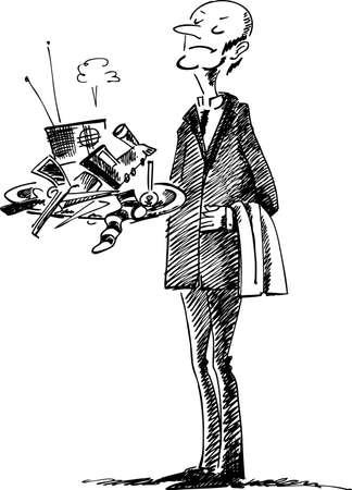 sirvientes: Mayordomo