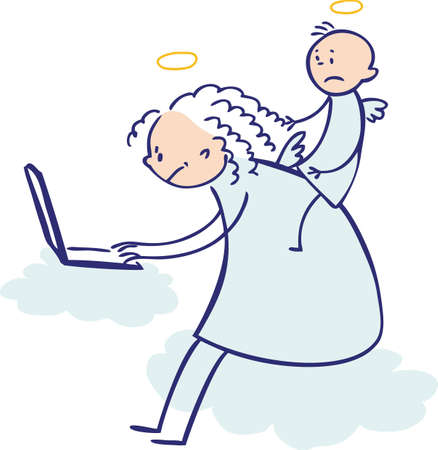 not working: Moms are not angels  working, colored