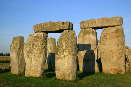 Detail of Stonehenge - England Imagens