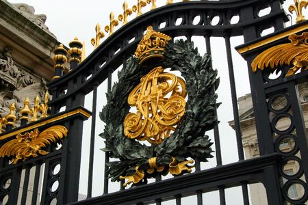Buckingham Palace Gate - London, England photo