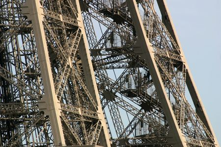 Eiffel Tower Close Up - Paris, France photo