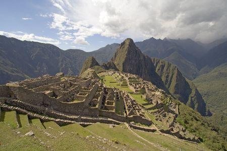 lost city: The lost city on Machu Picchu near Cusco, Peru.