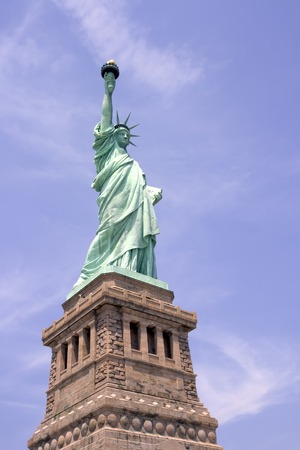Statue of Liberty on Liberty Island in New York City. Stock Photo - 1446910