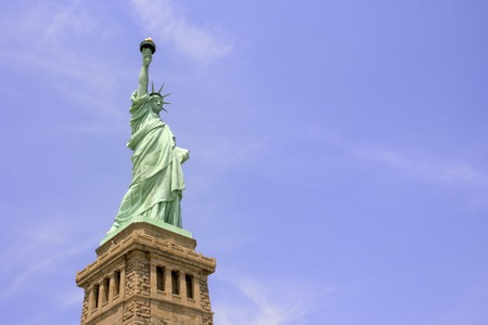 Statue of Liberty on Liberty Island in New York City. Stock Photo - 1446860