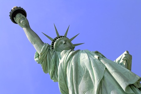 Statue of Liberty on Liberty Island in New York City. Stock Photo - 1446859
