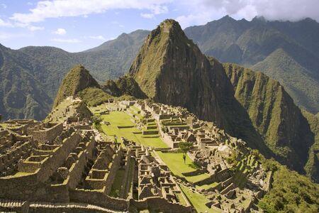 incan: The Lost Incan City of Machu Picchu near Cusco, Peru.