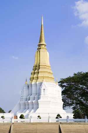 Phra Chedi Sri Suriyothai - Memorial to Somdet Phra Sisuriyothai in Ayutthaya, Thailand.