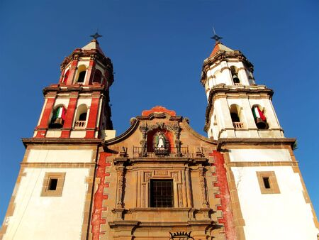 congregation: The Temple of the Congregation in Queretaro, Mexico. Consecrated May 12, 1680. Stock Photo