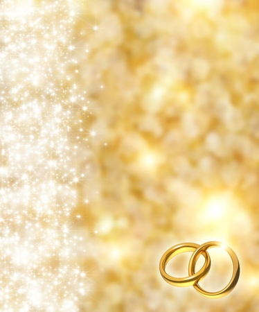 splendour: the beautiful holiday abstract gold  background  with  shining sparklets, weddings concept Stock Photo