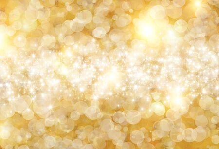 splendour: the beautiful holiday abstract  background of gold circle with sparklets