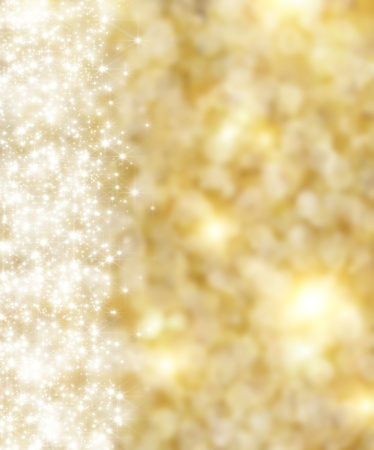 the beautiful holiday abstract gold  background  with  shining sparklets Stock Photo - 13594167