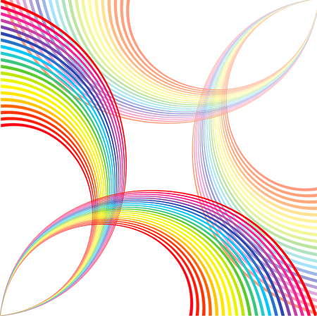 abstract rainbow: the beautiful abstract  background of multicoloured rainbow