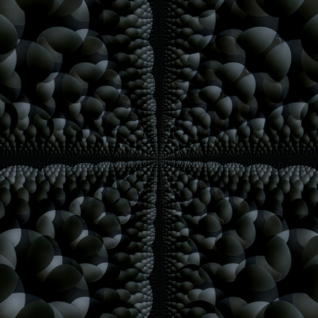 grey and black abstract backdrop , square composition