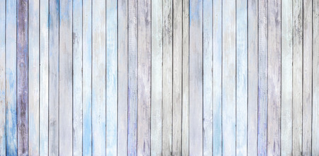 light blue background of old wood plank Reklamní fotografie