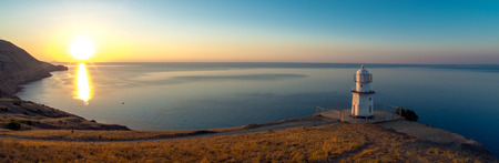Beauty nature landscape Crimea, horizontal photo, panoramic view
