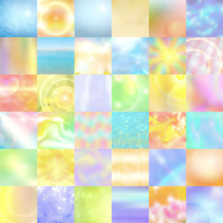 pastel multicolored background of abstract square, abstraction illustration