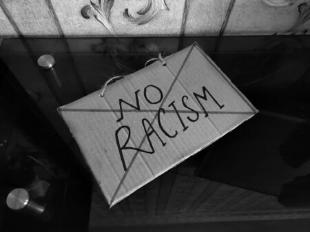 Image against racism activity in the world