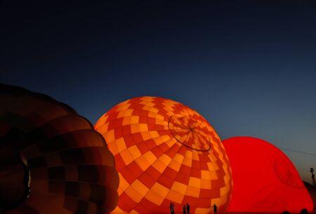 Image of hot air balloon.