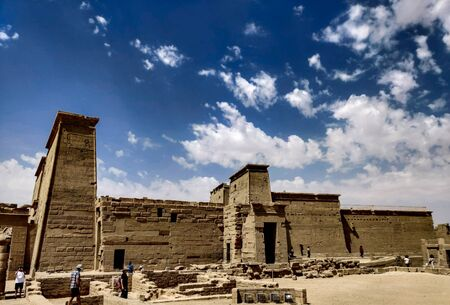 Temple of Isis philae, Egypt.