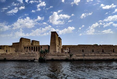 Image of philae temple in Egypt.