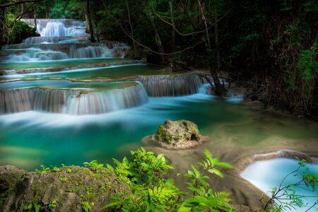 exposure: Thailnad waterfall with long exposure