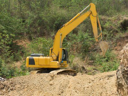 dig up: BACK HOE