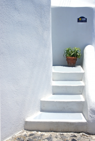 Santorini life photo