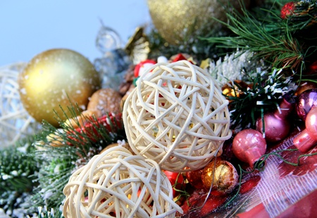 Big mix of Christmas decorations  Stock Photo - 15684368