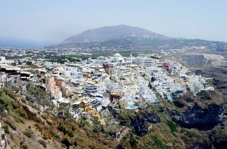 thira: Capital city of Santorini - Thira