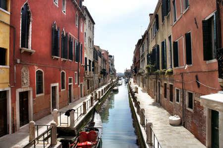 Beautiful romantic canals in Venice                 photo