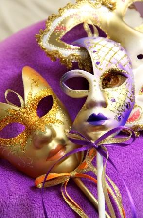 イタリア、ベニス、ベニスのカーニバル マスク 写真素材