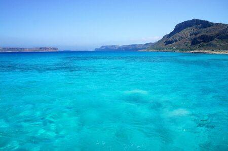 Beautiful turquoise Mediterranean sea and nature             photo