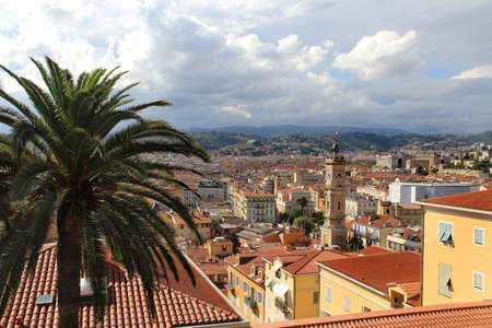 Beautiful panorama of Nice, France, Provence  photo