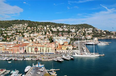 Beautiful panorama of Nice, France, Provence  Stock Photo - 21895698