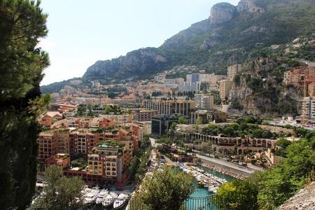 Luxury yacht and sea in Monte-Carlo, Monaco photo
