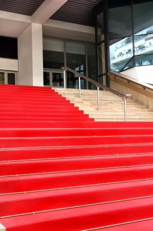 Film festival red carpet in Cannes, France Editorial
