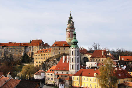krumlov:  Cesky Krumlov, Czech Republic Editorial