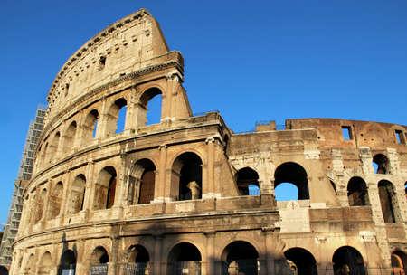 Roma: Beautiful view of Coliseum, Roma, Italy