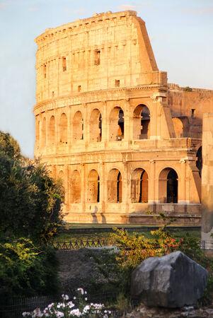 emporium: Beautiful view of Coliseum, Roma, Italy