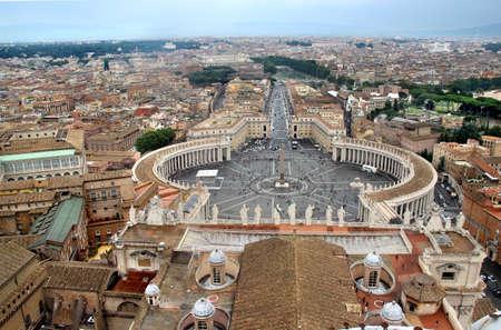 Roma: Beautiful panorama of Vatican, Roma, Italy