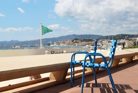 riviera: Beautiful view of Cannes, French Riviera, France