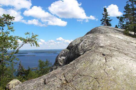 Beautiful nature of national park Koli, Finland